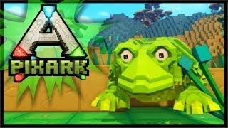VISITING THE SWAMP OF DEATH!? | PixARK Gameplay #4
