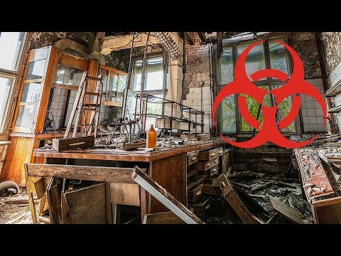 Found Toxic Labs in Huge Abandoned Chemical Factory - Urbex Lost Places Germany