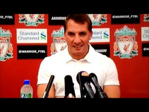 Liverpool FC Manager Brendan Rogers in Irony Whooosh! Over Luis Suarez