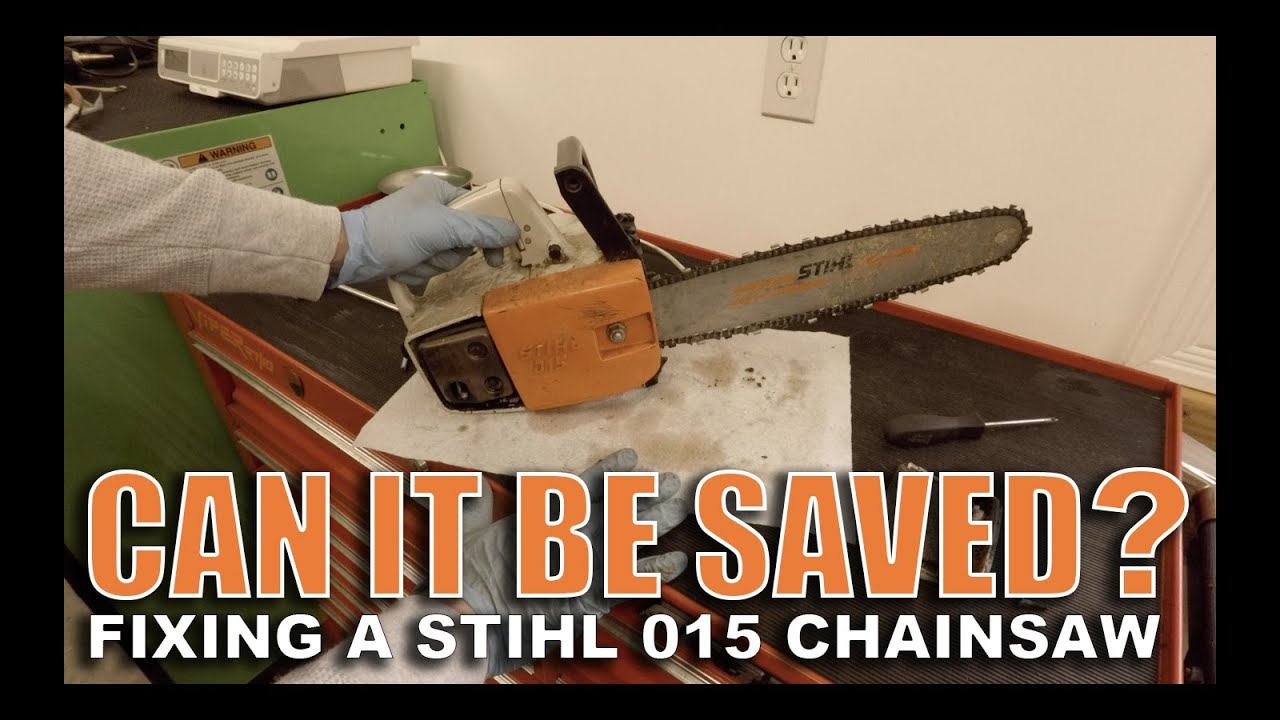 Stihl 015 Arborist Chainsaw Repair - Fixing It Forward For A Neighbor