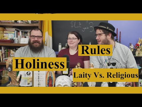 Off Topic from St. Scholastica: Holiness