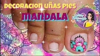 Diseño de uñas Mandalas - Mandalas Nail art tutorial