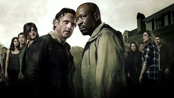 the walking dead  season 6 trailer  episode 12 song  arsonists lullaby by hozier