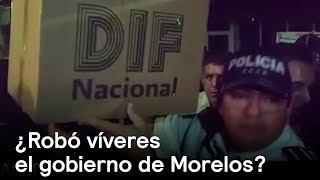 ¿Gobierno de Morelos roba víveres? - Sismo - En Punto con Denise Maerker