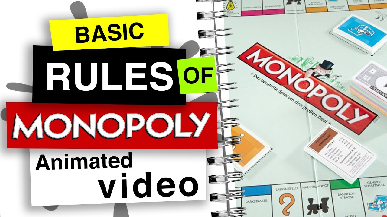 Game rules monopoly How to