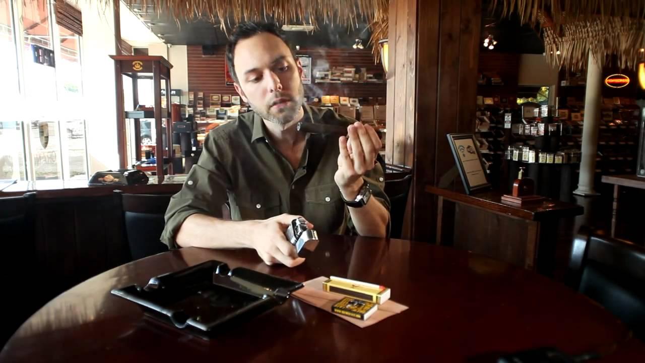 How to smoke cigars