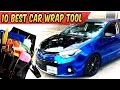 10 Best Tools needed for Car Wraps