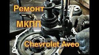 Chevrolet Aveo Ремонт МКПП разбор дефектовка  причины неисправностей Часть 1 Авторемонт