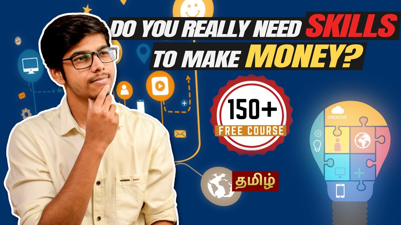 Make Money without Skills - Is it Possible?   D Entrepreneur Tamil