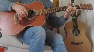 E Kreiz An Noz ( Fingerstyle Guitar / Musique Bretonne - Tab ) Youenn Gwernig