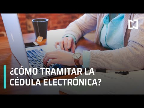 ¿Cómo tramitar la cédula profesional electrónica?