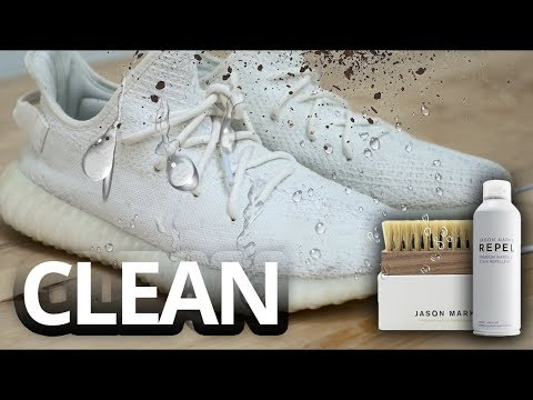 How To Clean White Yeezys & Flyknit Vapormax FREE GIVEAWAY Jason Markk