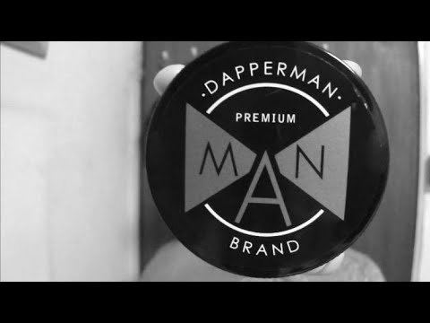 Dapper MAN Brand Pomade Review & Styling
