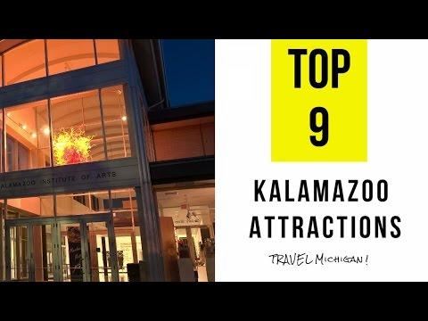 Top 9  Best Tourist Attractions in Kalamazoo - Michigan