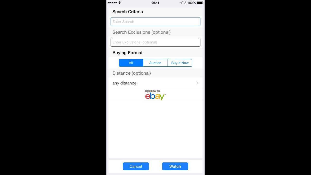 Baywatch Ebay New Item Alerts Notifications Ios Iphone Ipad App Progress Concepts