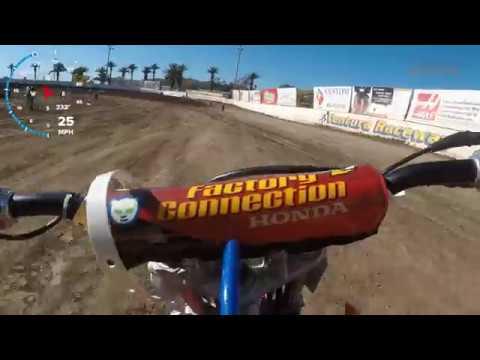 XR100 11yr. Old Matias Langstrup Ventura Raceway Flat Track 100cc Practice