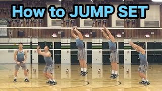 jump set technique how to set a volleyball tutorial part 55