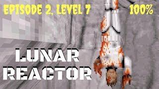 Duke Nukem 3D (100%) Walkthrough (E2L7: Lunar Reactor)