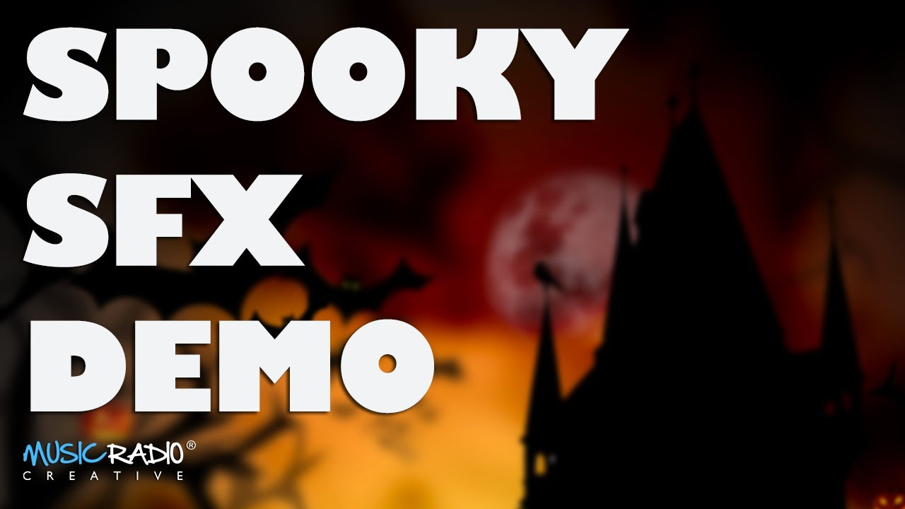 Halloween Sound Effects - How To Make A Radio Imaging Demo