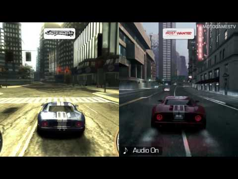 Need For Speed Most Wanted 2005 Vs Most Wanted 2012 Youtube