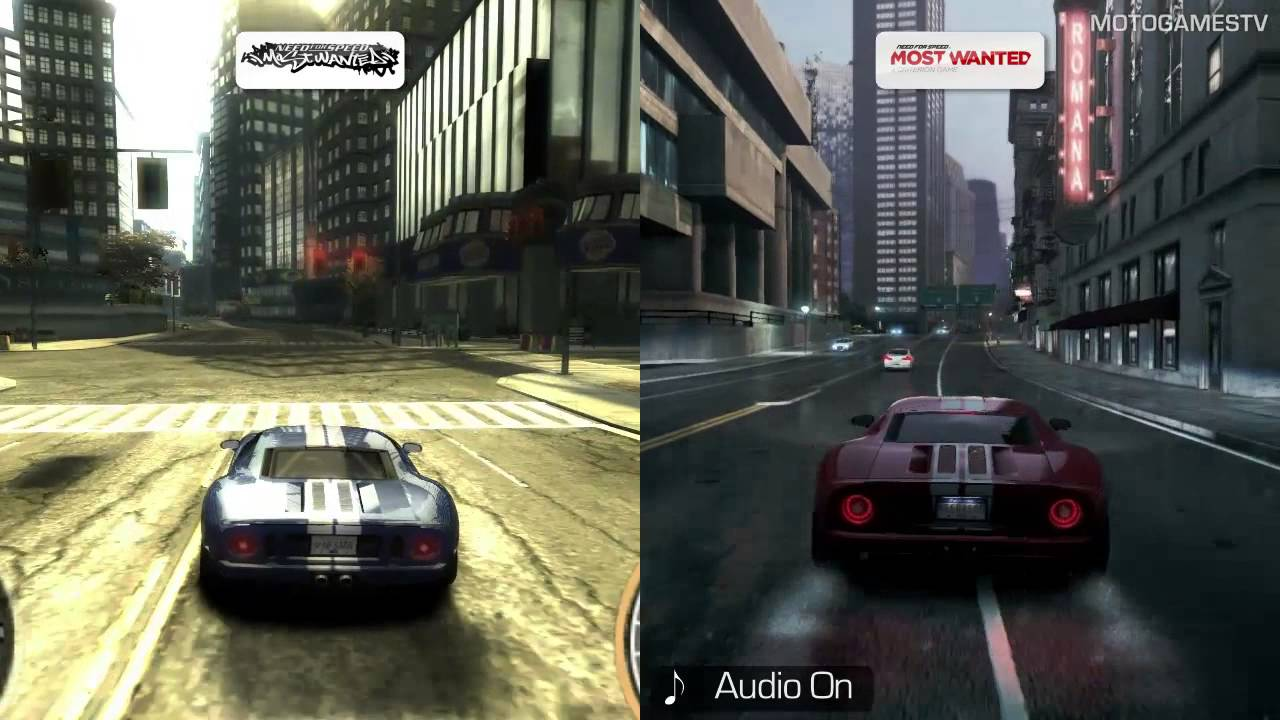 need for speed most wanted 2005 vs most wanted 2012 youtube. Black Bedroom Furniture Sets. Home Design Ideas