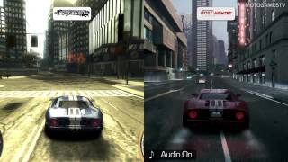 Need for Speed Most Wanted 2005 vs Most Wanted 2012