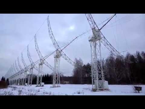 Радиотелескоп ~ 2015.02.08 TzarGrad Radio Telescope Pushchino