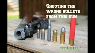 Shooting the wrong size bullets out of a gun