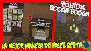 THE BEST WAY TO MAKE REBITH IN BOOGA BOOGA ROBLOX LATIN ENGLISH