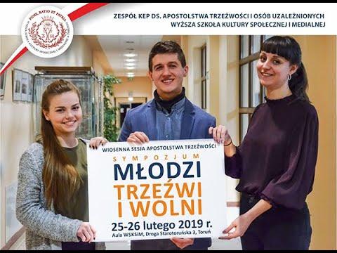 Sympozjum naukowe pt. Młodzi trzeźwi i wolni – Część I