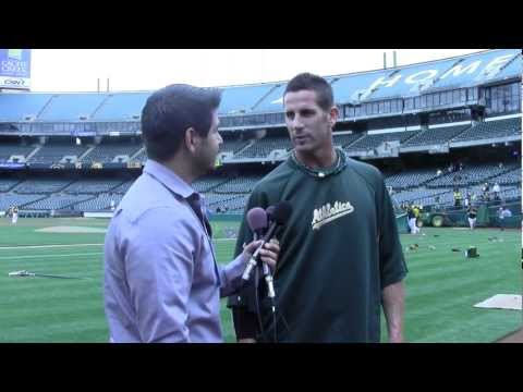 SF State Students Interview A's Closer Grant Balfour