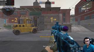 Sniping on Factory Map (K/D-14/3) ● Warface Ranked Gameplay