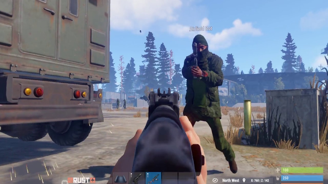 Rust Oxide BotSpawn Scientists Rust+ Test