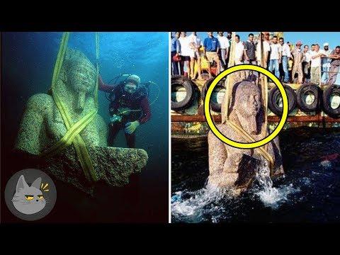 10 Cosas Extrañas Encontradas Bajo El Agua