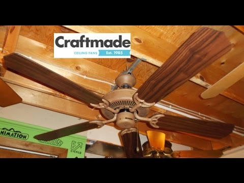 Craftmade Contractors Design Ceiling Fan Youtube