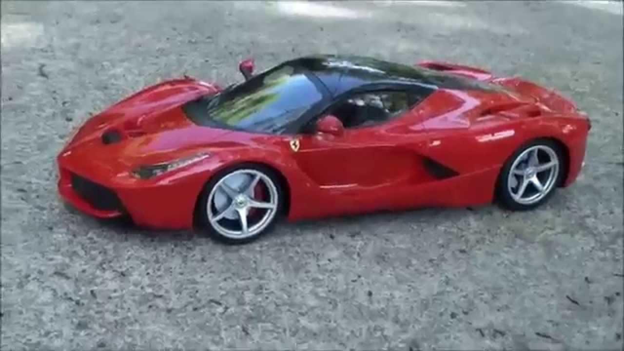 La Ferrari Brinquedo De Controle Remoto 1 14 Maisto Youtube