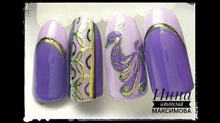 ❤ ЛИТЬЕ на ногтях...  ИЛИ НЕТ ❤ МОЙ способ ИДЕАЛЬНОГО литья ❤ Дизайн ногтей гель лаком ❤