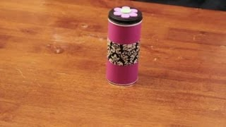 How To Decorate Cookie Tins : Craft & Decoration Tips