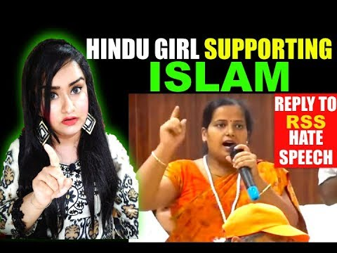 Hindu Girl SUPPORT ISLAM - A Reply To The RSS Lady Who Spoke Against ISLAM