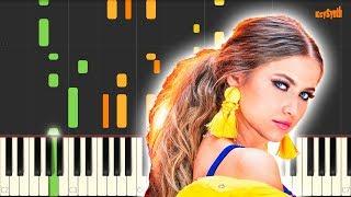 1,2,3 - Sofia Reyes (feat. Jason Derulo & De La Ghetto) - Piano - Cover - Synthesia