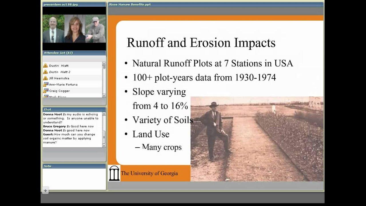 Environmental Benefits of Manure Application – Livestock and