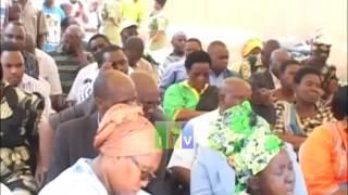 Waziri mkuu Kassim Majaliwa afungua duka la dawa la MSD hospitali ya wilaya ya Mpanda.