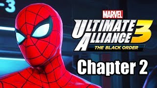 Marvel Ultimate Alliance 3: The Black Order - Gameplay Walkthrough Part 2 (Chapter 2)