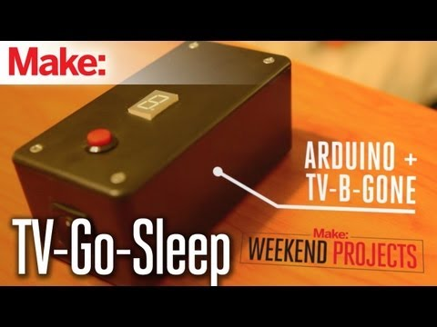Weekend Projects - TV-Go-Sleep Universal TV Timer