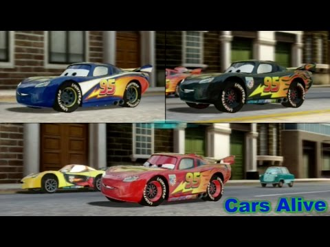 Cars 2 The Video Game 3 Lightning Mcqueen S Race On Hyde Tour