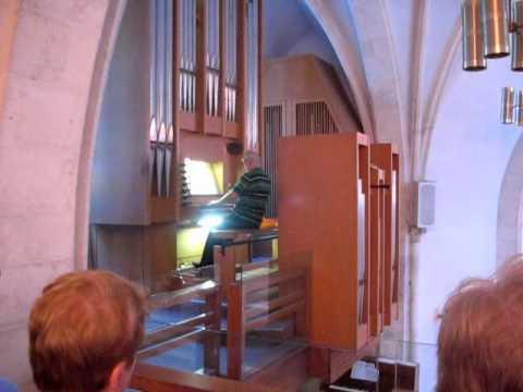 The Wedding March On A Fancy Church Organ