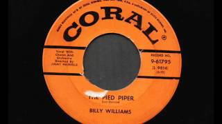 Billy Williams the Pied Piper