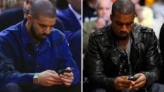 Kanye West Says Drake Called and Threatened him. Also says Travis Scott let Drake diss him for Clout