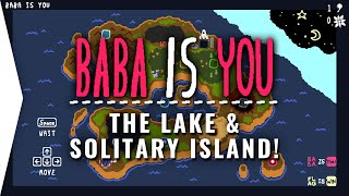 How Smart Am I? ► BaBa Is You - The Lake & Solitary Island Solved! - Puzzle Game Part 1