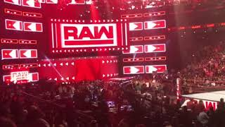 Ember Moon debut on  RAW after Wrestle Mania34 09.04.2018